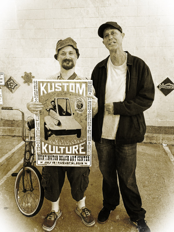 Kustom Kulture II @ Huntington Beach Art Center: photo (22).JPG