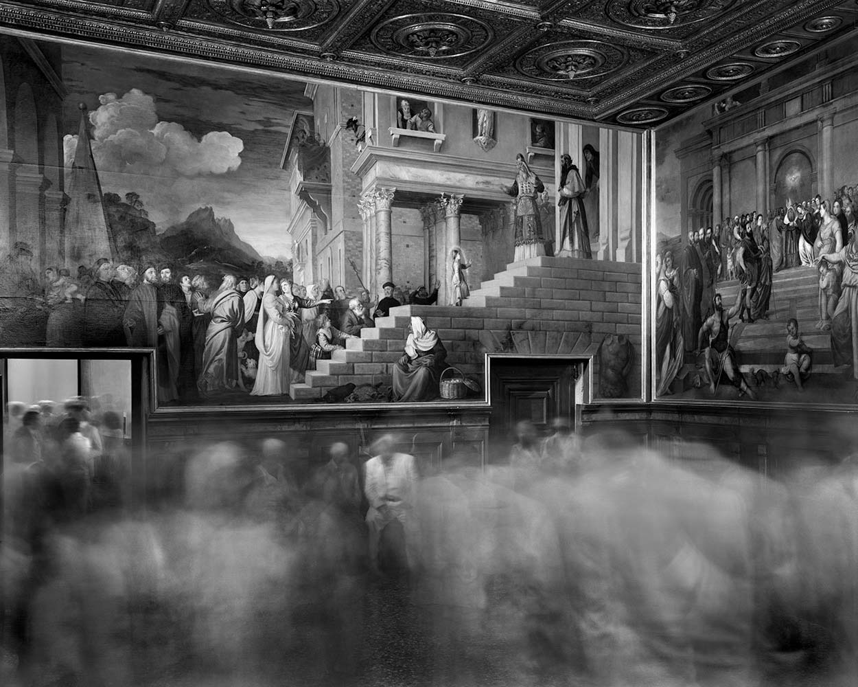 Ghostly Photographs by Matthew Pillsbury: Titian_accademia.jpg