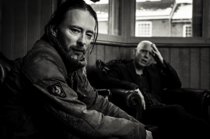 The Atoms For Peace Drawing Room, London: Thom-Yorke-Stanley-Donwood-Sitting-BW-Michael-Muller-x1000.jpg