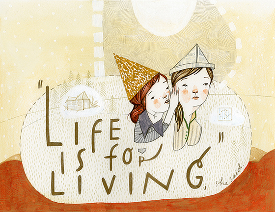 Rebecca Green Illustration: lifeisforliving.jpg
