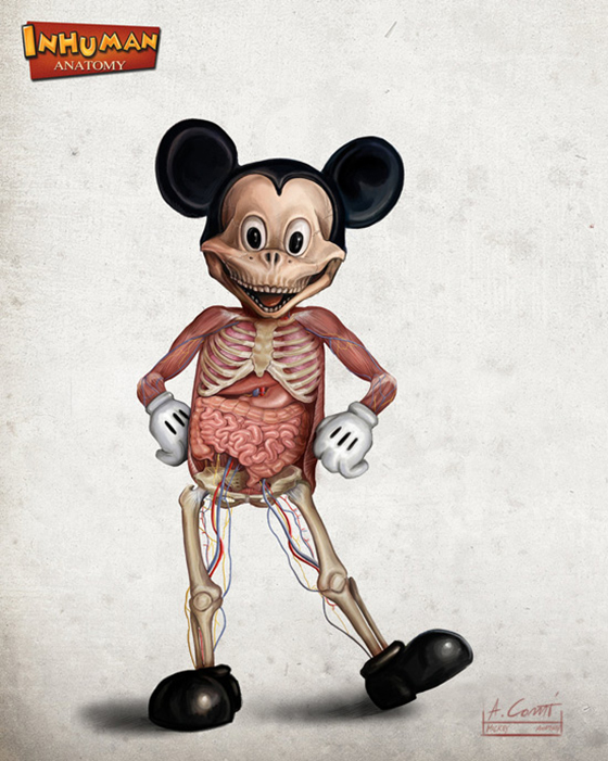 The Anatomy of Disney: mickeys_anatomy_alessandro_conti.jpg