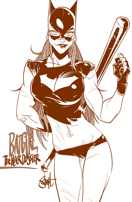 Otto Schmidt's Digital Illustration: batmr2.png