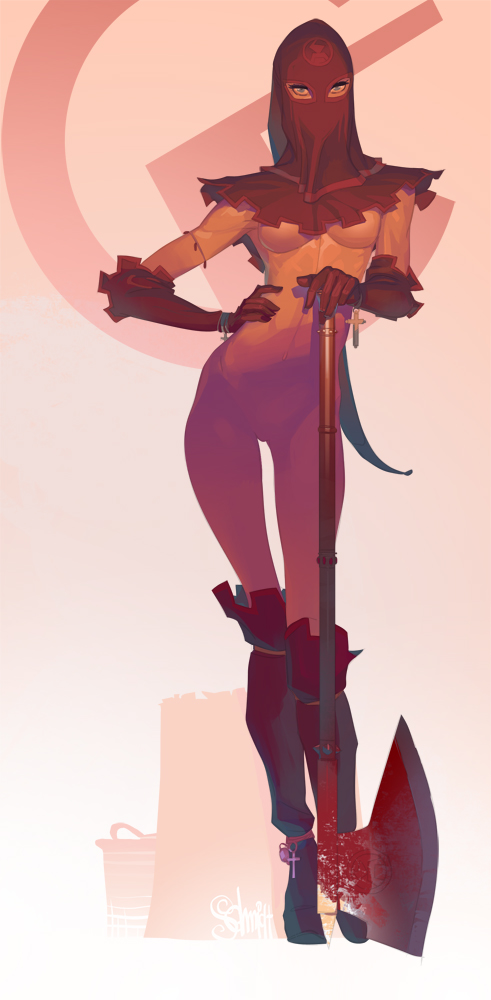 Otto Schmidt's Digital Illustration: gltn00.jpg