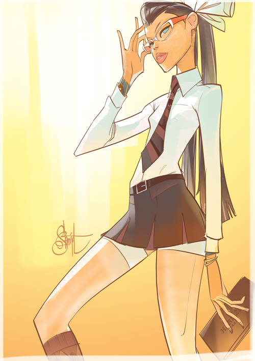 Otto Schmidt's Digital Illustration: schooly.png