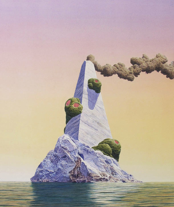 The Utopian Future by Tristram Lansdowne: Beacon-2012-20.5x22-inches.jpg