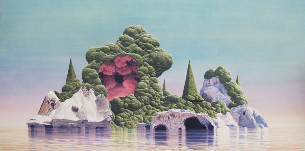 The Utopian Future by Tristram Lansdowne: Protectorate-2012-67x32-inches.jpg