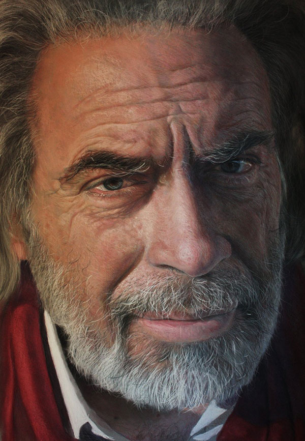 All in the Eyes: The Hyperreal Portraits of Ruben Belloso: hyper-realistic-pastel-portraits-ruben-belloso-8.jpg