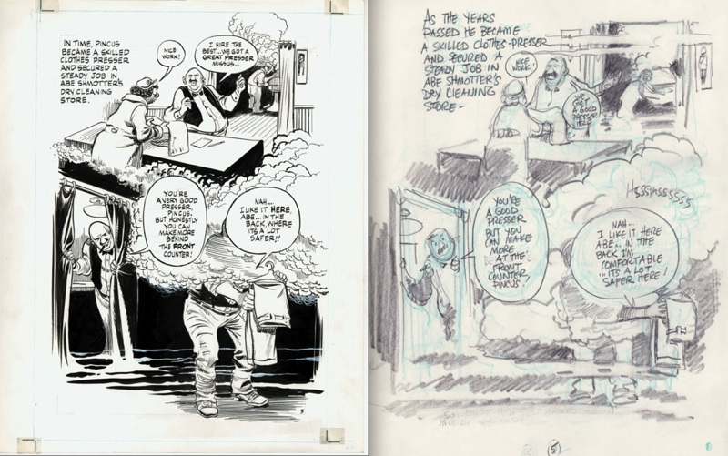 WILL EISNER: FATHER OF THE GRAPHIC NOVEL @ Cartoon Art Museum, SF: sanctum.lot.3.jpg