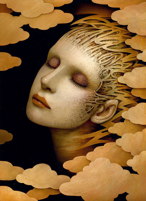 "Naoto Hattori ""REM"" and ""Morpheus, The Art Of"" @ Copro Gallery: g_mind_cloud.jpg"