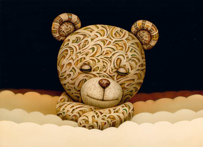 "Naoto Hattori ""REM"" and ""Morpheus, The Art Of"" @ Copro Gallery: o_sound_sleep.jpg"