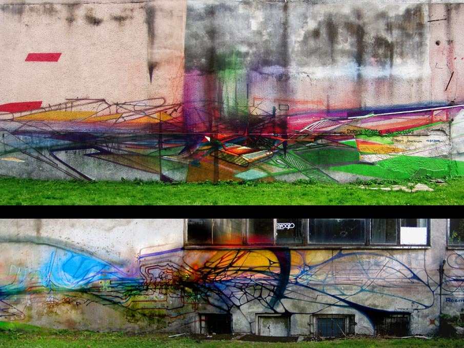 Street Art Inspired by the Glitch by Krzysztof Syruć: 2009Dobremiasto_905.jpg
