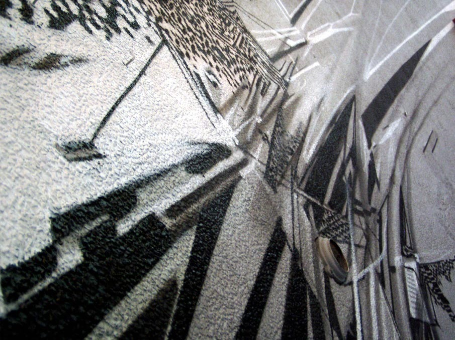 Street Art Inspired by the Glitch by Krzysztof Syruć: 2009Powisle3_905.jpg