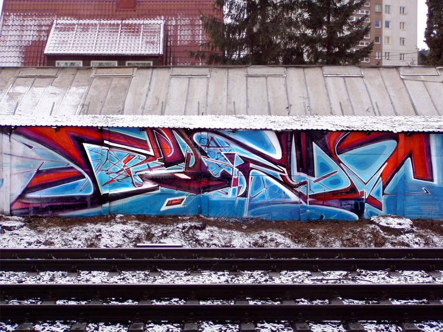 Street Art Inspired by the Glitch by Krzysztof Syruć: 2009Roem_905.jpg