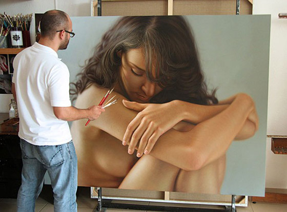 The Art of Omar Ortiz: Omar-Ortiz-Realistic-painter-8-600x444.jpg