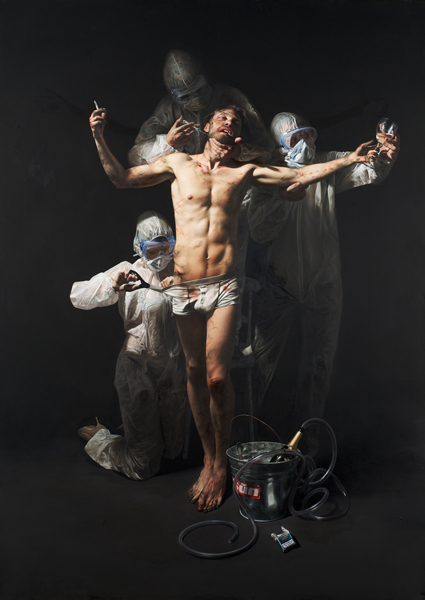 Paintings by Mitch Griffiths: -Rehabilitation.jpg