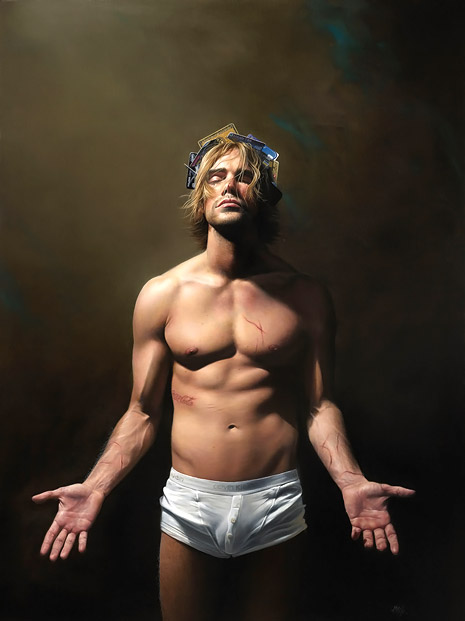 Paintings by Mitch Griffiths: Mitch-Griffiths-21st-Century-Boy.jpg