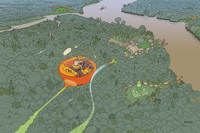 """VOYAGE D'HERMES"": When Moebius Created Work for HERMÈS: moebius-hermes-Voyage-dHermes-1.jpg"