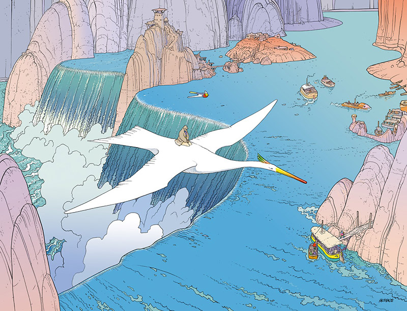 """VOYAGE D'HERMES"": When Moebius Created Work for HERMÈS: moebius-hermes-Voyage-dHermes-3.jpg"