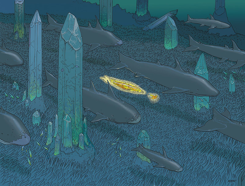 """VOYAGE D'HERMES"": When Moebius Created Work for HERMÈS: moebius-hermes-Voyage-dHermes-6.jpg"