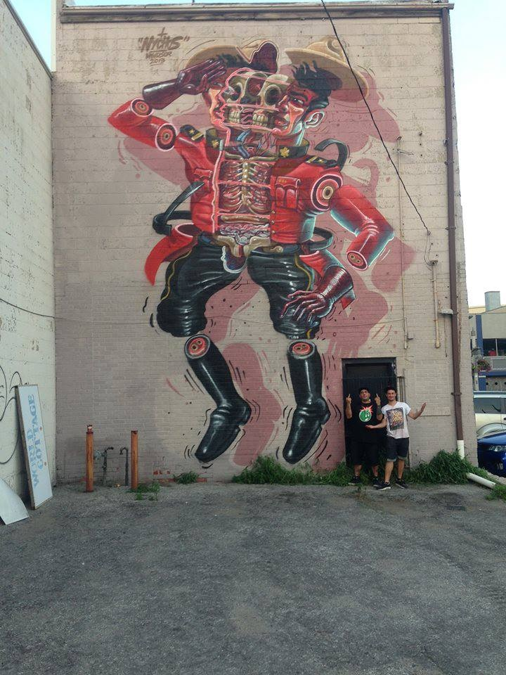 "Update: ""Free 4 All Walls"" Project in Windsor, Canada: Nychos.JPG"