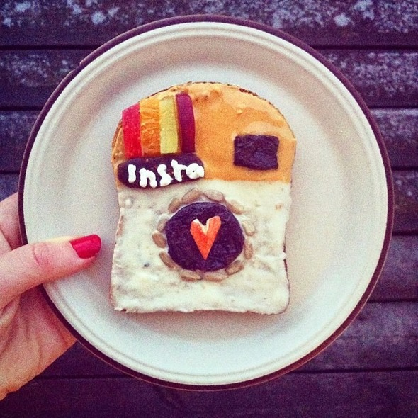 Famous Paintings Recreated with Food... as in Sandwiches... : Instagram.jpg