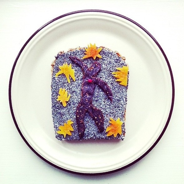 Famous Paintings Recreated with Food... as in Sandwiches... : Matisse.jpg