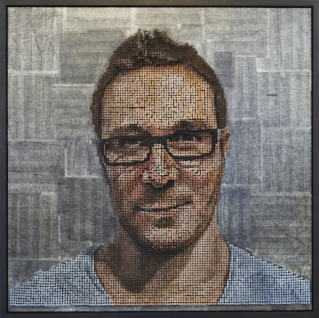 Portraits Made From Screws by Andrew Meyers: andrewmyers1.jpg