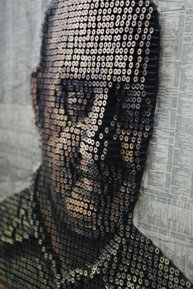 Portraits Made From Screws by Andrew Meyers: andrewmyers11.jpg