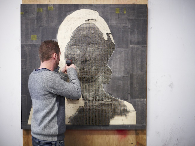 Portraits Made From Screws by Andrew Meyers: andrewmyers12.jpg