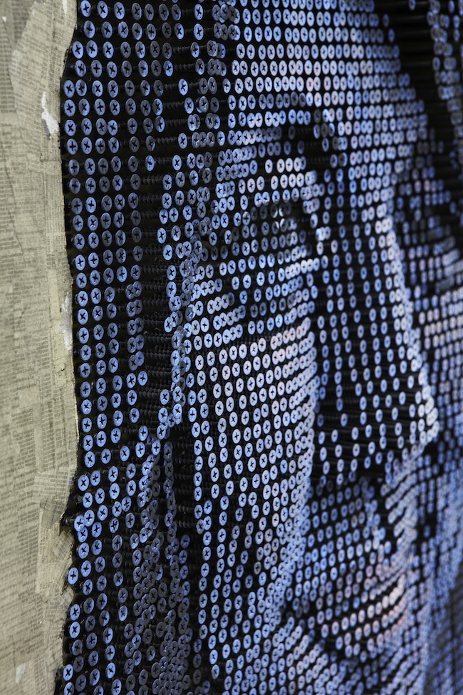 Portraits Made From Screws by Andrew Meyers: andrewmyers4.jpg
