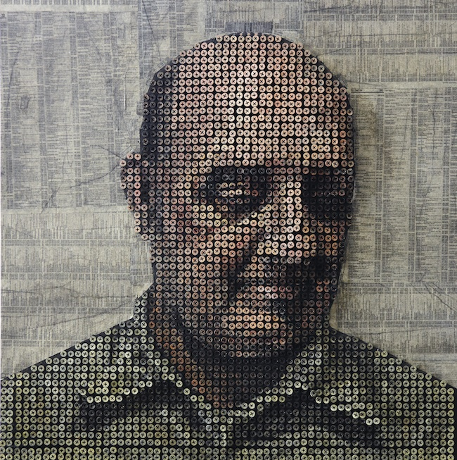 Portraits Made From Screws by Andrew Meyers: andrewmyers9.jpg