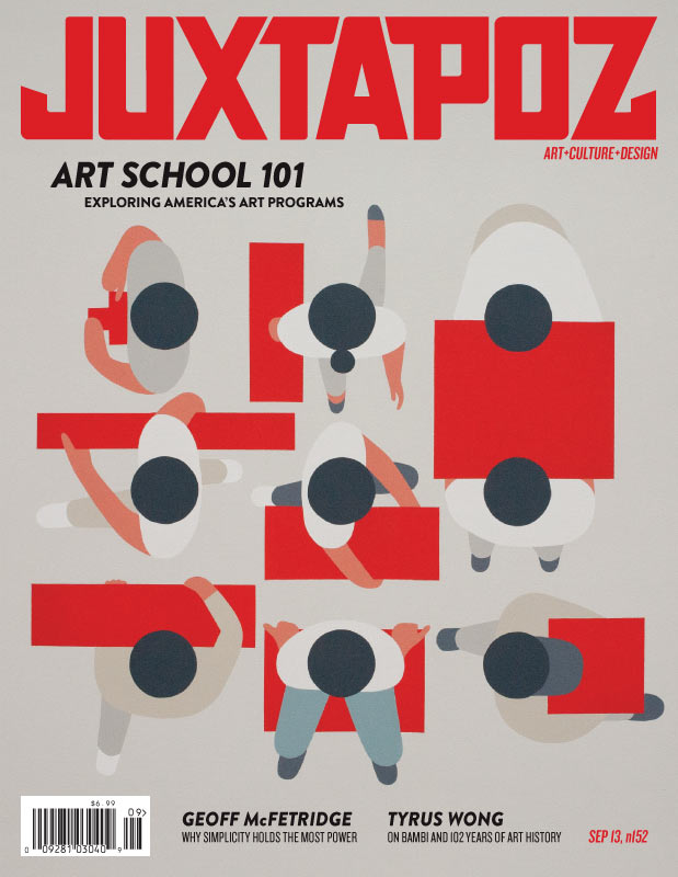Issue Preview: September 2013 w/ Geoff McFetridge, Art School 101, Laura Ball: 1-ipcvr.jpg