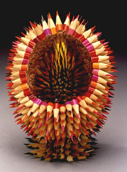 Jennifer Maestre's Pencil Sculptures: 8392471433_f116755e92_z.jpg