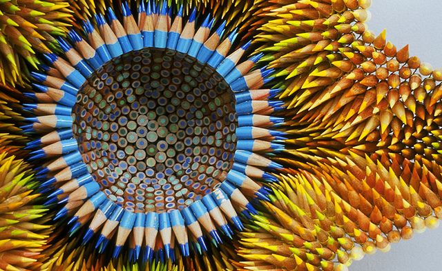 Jennifer Maestre's Pencil Sculptures: 8393