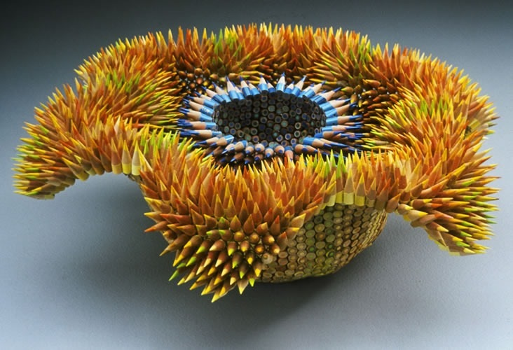 Jennifer Maestre's Pencil Sculptures: pencil-sculptures-jennifer-maestre-1.jpg
