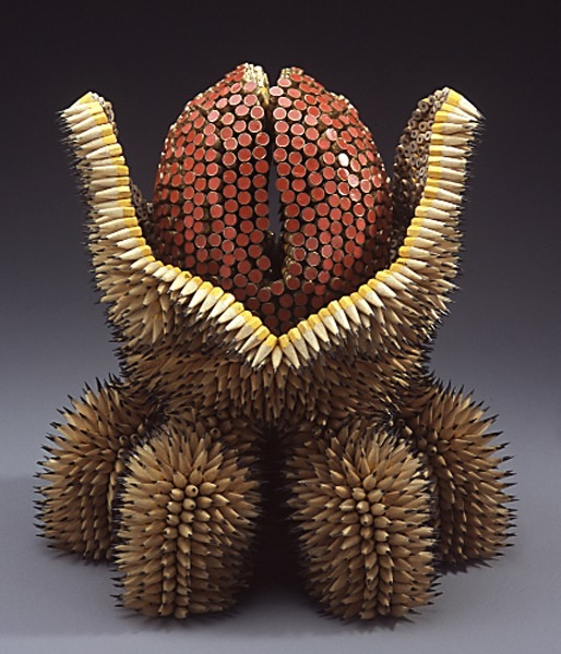 Jennifer Maestre's Pencil Sculptures: pencil-sculptures-jennifer-maestre-2.jpg
