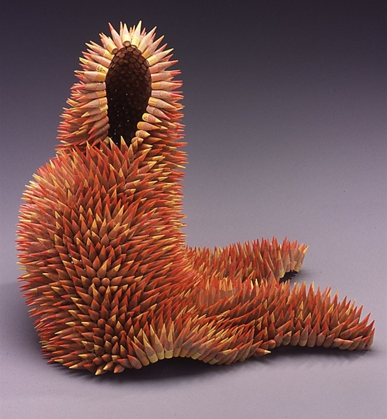 Jennifer Maestre's Pencil Sculptures: pencil-sculptures-jennifer-maestre-6.jpg