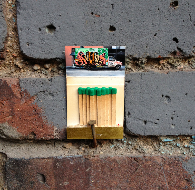Matchbook Paintings by Joseph Martinez: front page.png