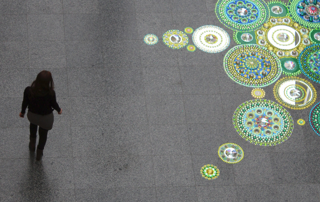 Floor Installations by Suzan Drumming: tumblr_mr8lypsG2M1r0i205o1_1280.jpg