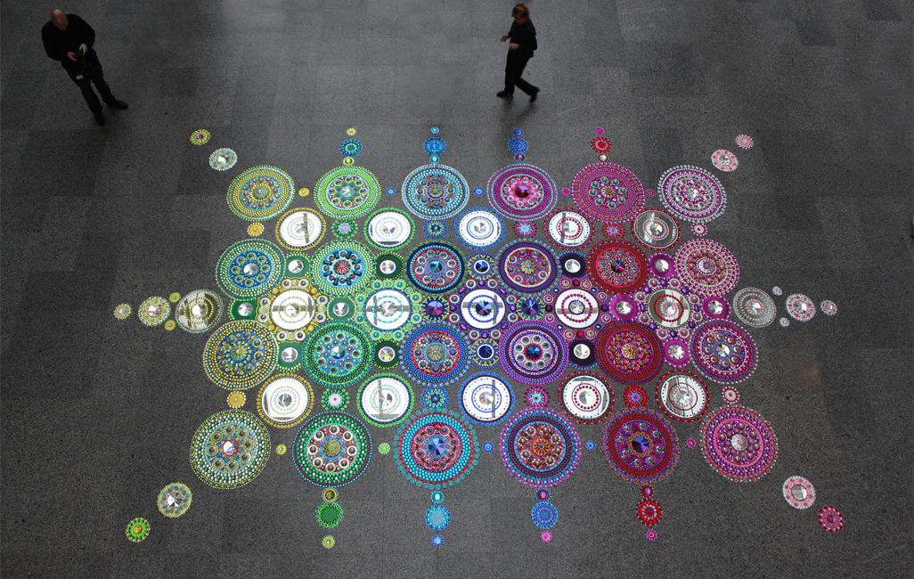 Floor Installations by Suzan Drumming: tumblr_mr8lypsG2M1r0i205o4_1280.jpg