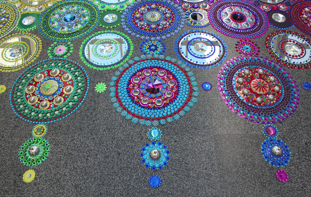 Floor Installations by Suzan Drumming: tumblr_mr8lypsG2M1r0i205o5_1280.jpg