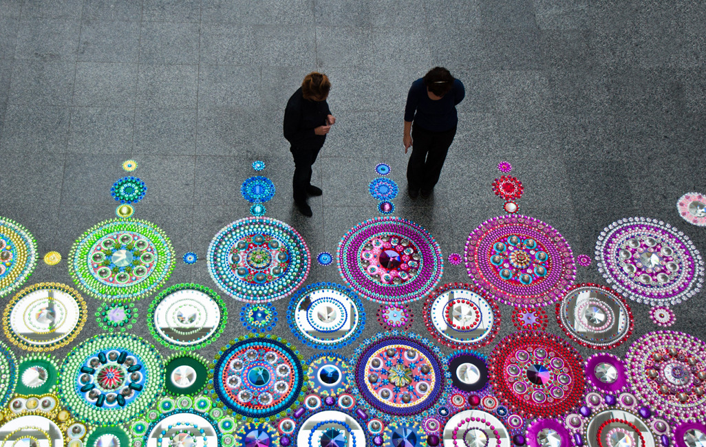Floor Installations by Suzan Drumming: tumblr_mr8lypsG2M1r0i205o6_1280.jpg