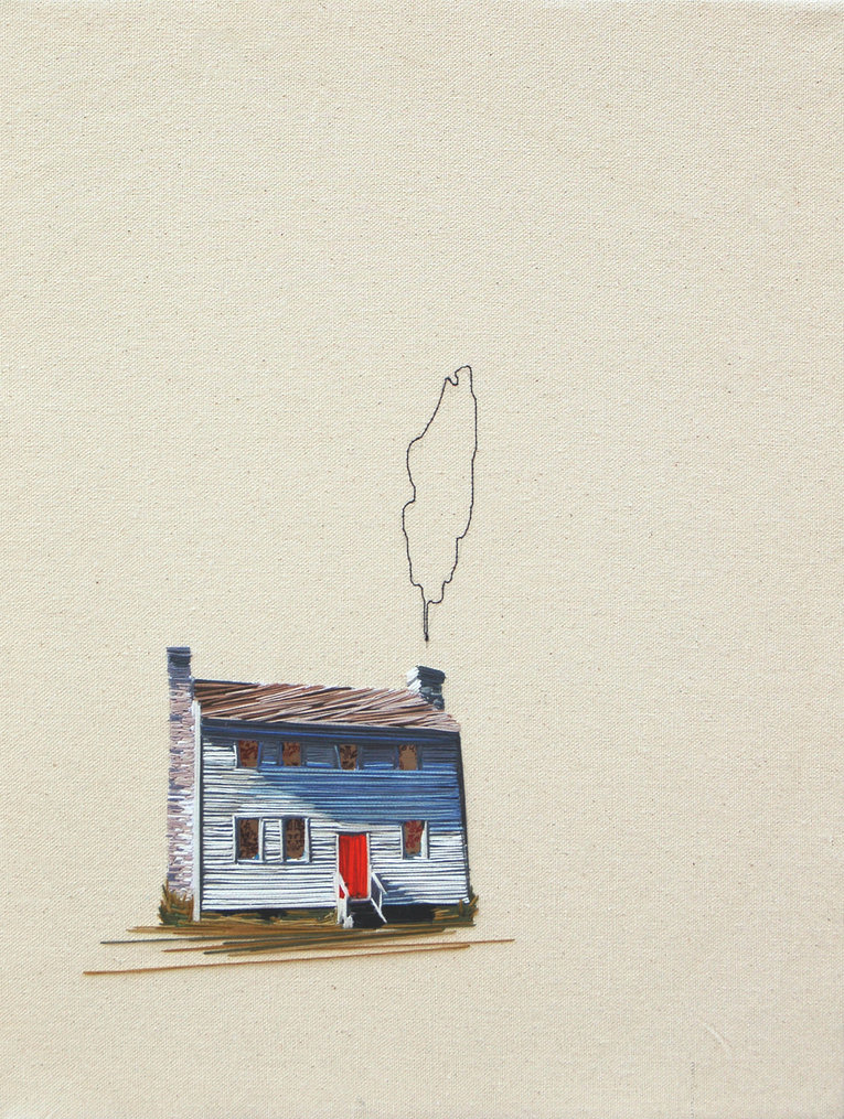 Embroidered Architecture by Stephanie Clark: Stephanie-K-Clark_03.jpg