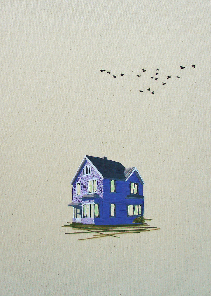 Embroidered Architecture by Stephanie Clark: Stephanie-K-Clark_04.jpg