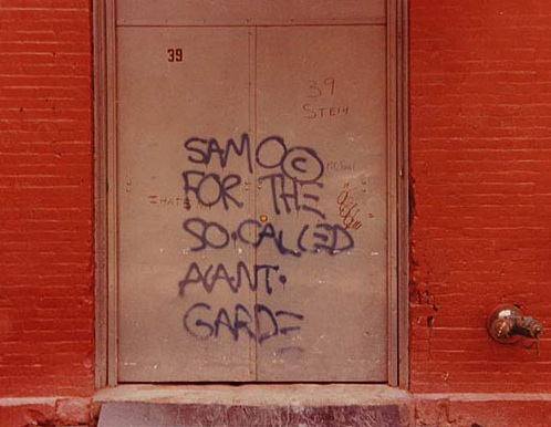 25 Years Ago Today, Jean-Michel Basquiat Died: samo_by_henry_flynt_1_20111112_1322699375.jpg