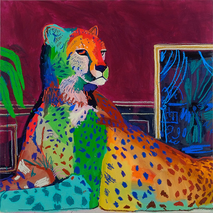The Paintings of Andy Dixon: AndyDixon-Cheetah.jpg