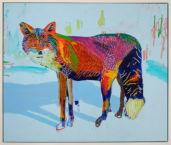 The Paintings of Andy Dixon: fox.jpg