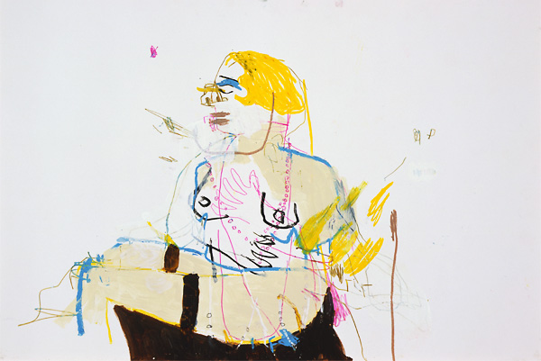 The Paintings of Andy Dixon: woman1_2.jpg