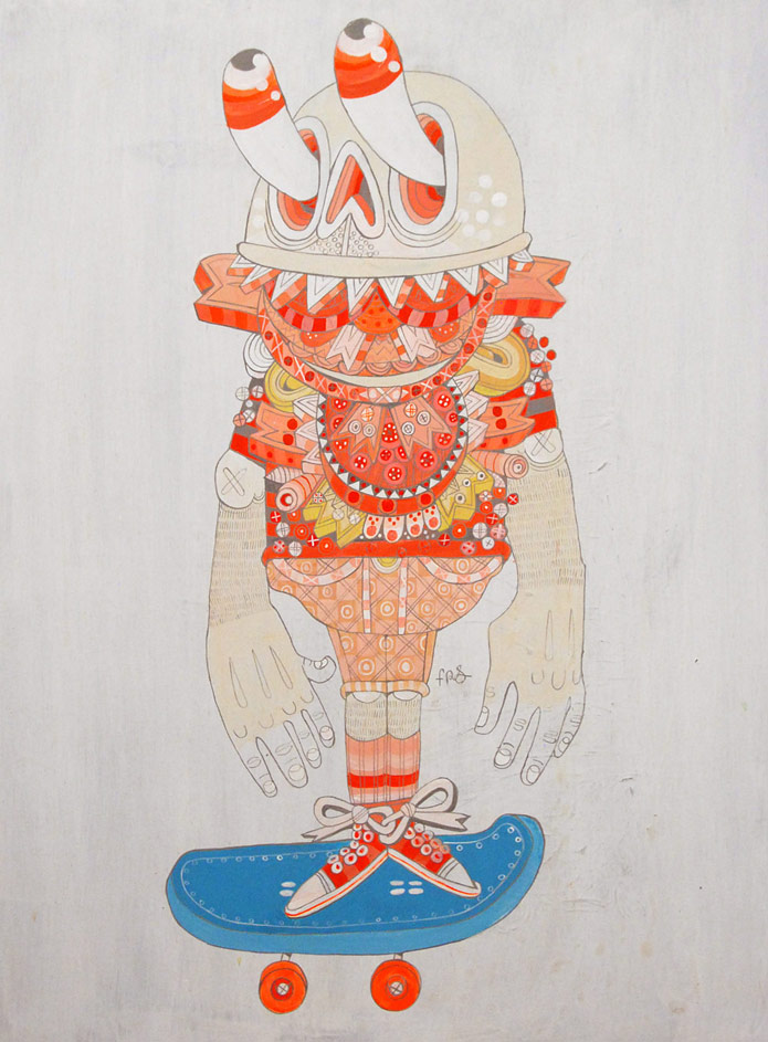 "Kelly Tunstall & Ferris Plock ""Loading"" @ Fecal Face Dot Gallery, SF: You_Are_What_You_Eat.jpg"
