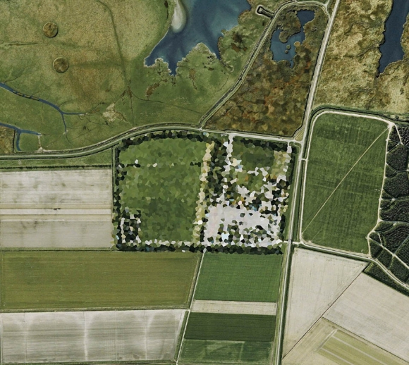 The Dutch Government's Creative Google Earth Censoring: dutch-landscapes-mishka-henner-2-580x518.jpg